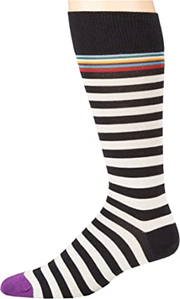 Paul Smith - Multi Top Two Stripe Sock
