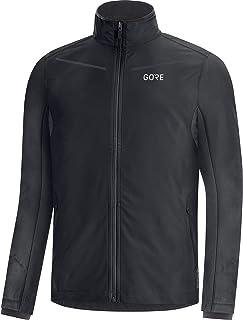 GORE WEAR R3 Men's Jacket, Partial GORE-TEX INFINIUM, S, Fireball/Orbit Blue