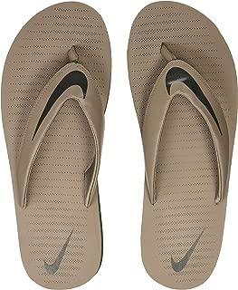 Nike Men's Chroma Thong 5 Sepia Stone/Sequoia Total Crimson Flip Flops