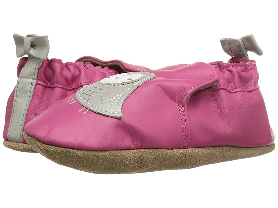 Robeez Bird Buddies Soft Sole (Infant/Toddler) (Fuchsia) Girl