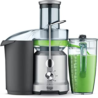 SAGE SJE430 the Nutri Juicer Cold, Extracteur de jus à froid avec goulotte d'alimentation pour fruits entiers, Acier inoxy...