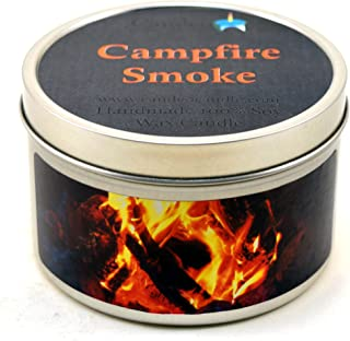 Campfire Smoke Super Scented Soy Candle Tin (6 oz)