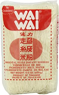 Wai Oriental Style Instant Noodles Rice Stick, 17.5-Ounce (Pack of 6)