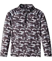 Limitless Bug Camo Zip T-Neck (Toddler/Little Kids/Big Kids)