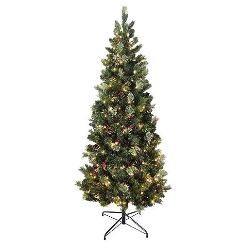 Pre Decorated Christmas Trees Amazon Co Uk