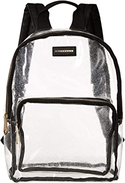 Clear Glitter Dome Backpack