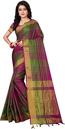 Leriya Fashion Soft Cotton Silk Saree For Women Half Sarees Under 349 2020 Beautiful For Women saree free size with blouse piece