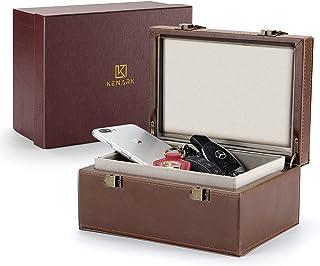 $54 » Sponsored Ad - KENARK KK6 Plus-BR Faraday Key Fob Protector Box, Signal Shielding Box, Anti-Theft Car Key Box, RFID Blocki...