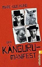 Coverbild von Das Känguru-Manifest, von Marc-Uwe Kling