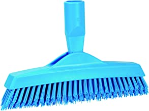 Vikan 70403 Grout Brush - Extra Stiff, Blue, green