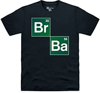 Shotdeadinthehead Men's Official Breaking Bad-Periodic Table Organic Tee