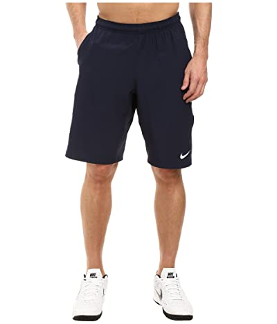 Nike N.E.T. 11 Woven Short (Obsidian/White) Men