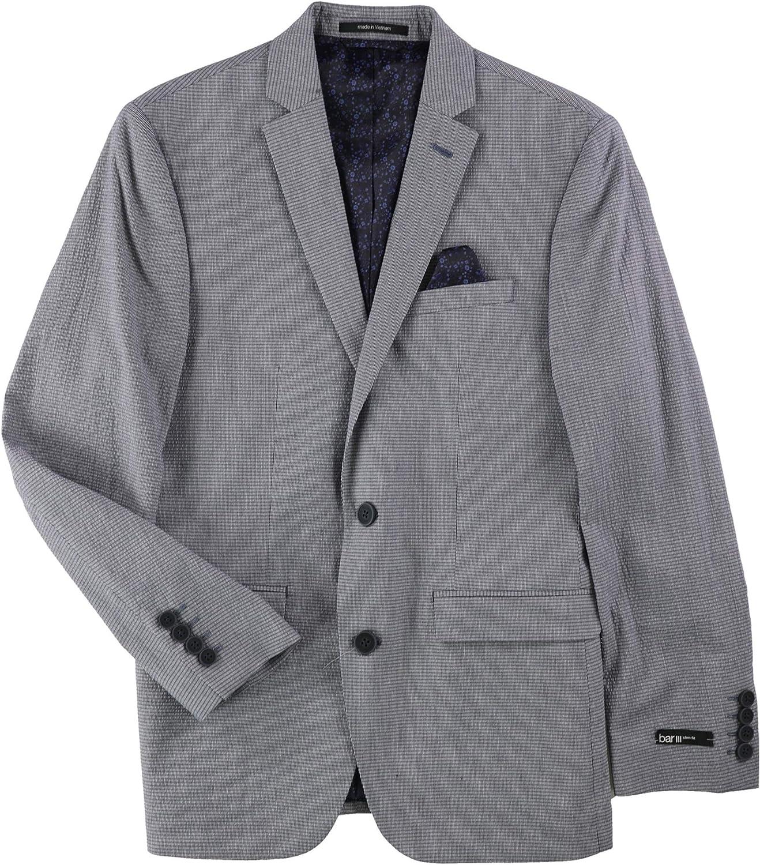 bar III Mens Slim-Fit Two Button Blazer Jacket