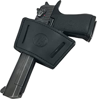 1791 Universal Leather Gun Holster, OWB/IWB CCW Holster, Right and Left Handed - Fits Glock, HK, SIG Walther (UIW)
