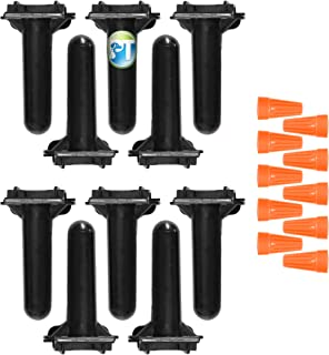 10 Pack PetsTEKÂ Waterproof Wire Splice Kit for Wire Break Repair in Electric In-Ground Dog Fence Systems
