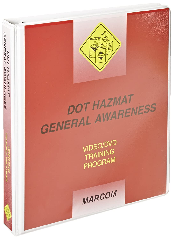 Max 62% OFF MARCOM DOT Hazmat General Program DVD At the price Awareness