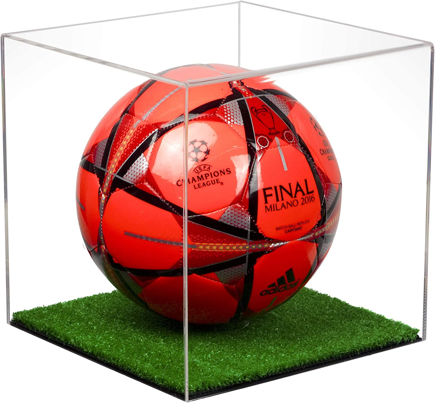 Deluxe Acrylic Soccer Ball Display Case