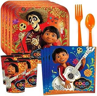 Coco Standard Tableware Kit Plastic Favor Cups (Serves 8)