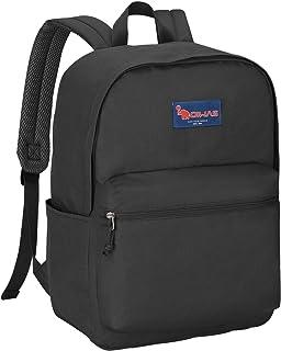 OIWAS Travel Backpack for Girls Teens Lightweight School Bookbag College Student Casual 23L Schoolbag Classic Basic Women Men