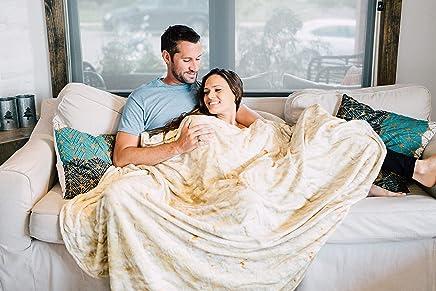 Comfort Food Creations Burrito Wrap Novelty Blanket -...