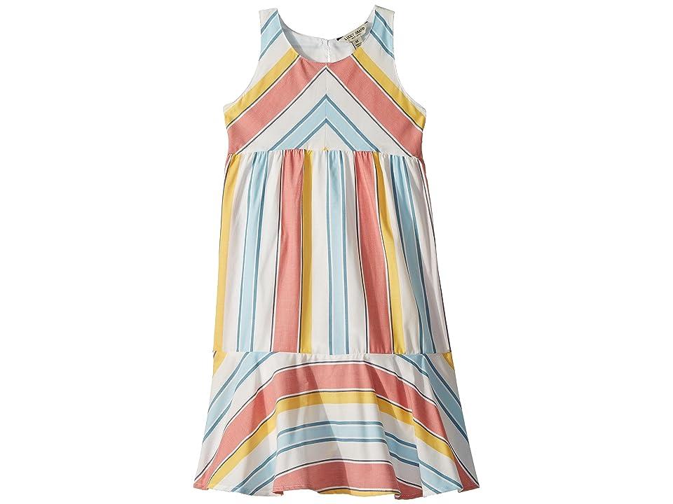 Lucky Brand Kids Aleah Dress (Toddler) (Marshmallow) Girl