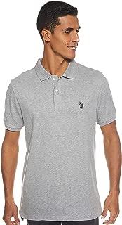 U.S. Polo Assn. Men's Solid Interlock Polo Shirt (Color Group 1 of 2)