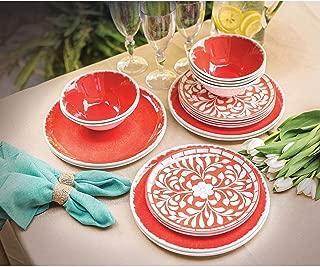 melamine dinnerware mother of pearl design