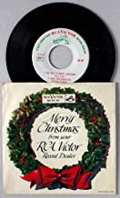 Merry Christmas From Your RCA Victor Record Dealer