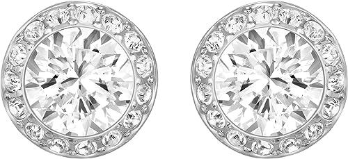 Swarovski Collana Angelic, Bianco, Placcato Oro