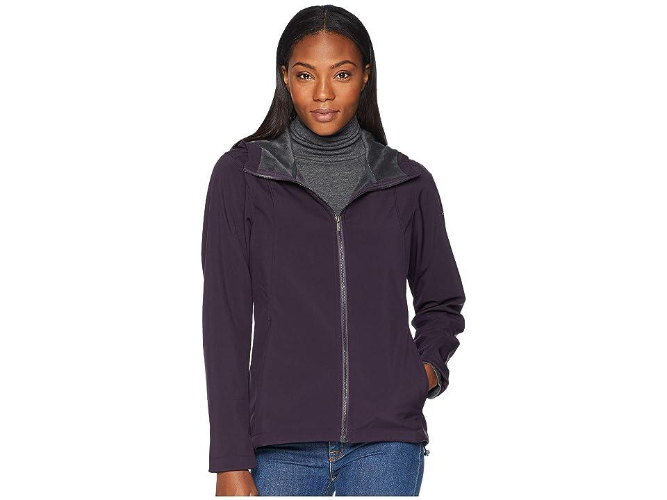 Columbia Kruser Ridgetm Plush Soft Shell Jacket (Dark Plum) Women