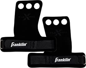 Franklin Sports Gymnastic Hand Grips – Durable Leather Two Finger Design – Add to Crossfit Bars, Weights, Exercise, Weight...