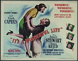 Odsan Gallery Its A Wonderful Life, James Stewart & Donna Reed, Lionel Barrymore, 1946 - Premium Movie Poster Reprint 36