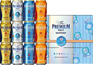 【お中元 ビールギフト】 ザ・プレミアム・モルツ 醸造家の贈り物 夏仕立て入 輝 4種アソートセット VA3S