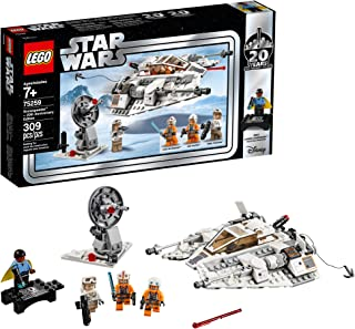 LEGO Star Wars: The Empire Strikes Back Snowspeeder – 20th Anniversary Edition 75259 Building Kit, New 2019 (309 Pieces)