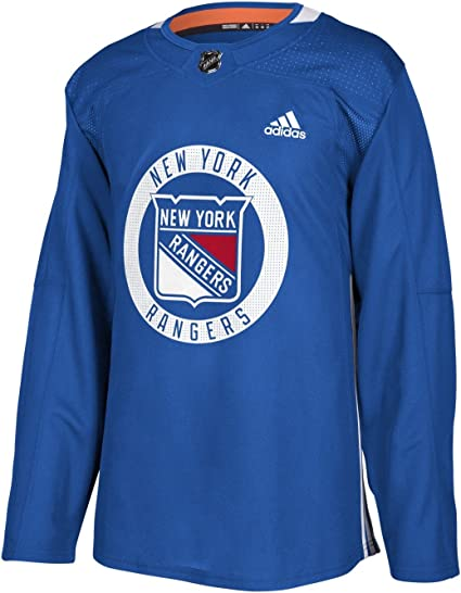 adidas New York Rangers NHL Men's Climalite Authentic Practice Jersey