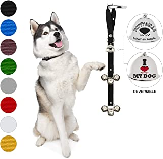 Caldwell's Pet Supply Co. Potty Bells Housetraining Dog Doorbells for Dog Training and Housebreaking Your Doggy. 1.4 Inch Dog Bell with Doggie Doorbell and Potty Training for Puppies