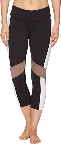Lux 3/4 Tights - Color Block