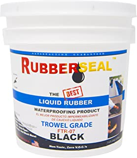 Rubberseal Liquid Rubber Waterproofing and Protective Coating - Trowel On 2 Gallon