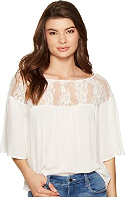 Jana Lace Detailed Top