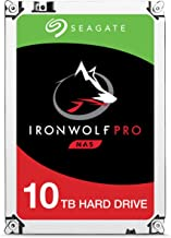 Seagate IronWolf Pro 10Tb NAS Internal Hard Drive HDD – 3.5 Inch Sata 6GB/S 7200 RPM 256MB Cache for Raid Network Attached...