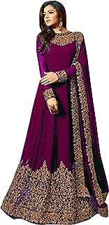 Aaru Fashion Women's Georgette Anarkali Gown