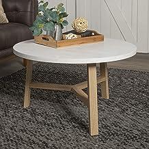 مشاية إديسون فيرنتشر كومباني AF30EMCTPC منتصف القرن الحديث غرفة المعيشة جولة القهوة Coffee Table Light Oak