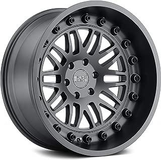 """Black Rhino Fury Custom Wheel - Matte Gunmetal 17"""" x 9.5"""", -18 Offset, 5x127 Bolt Pattern, 71.6mm Hub"""