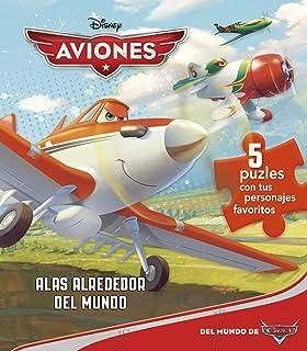 Aviones. 5 puzles: Alas Alrededor del Mundo (Disney. Aviones)