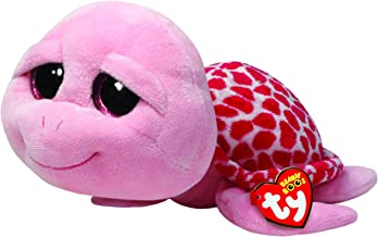Ty Beanie Boos Buddies Shellby Pink Turtle Medium Plush