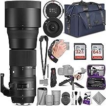 Sigma 150-600mm 5-6.3 Contemporary DG OS HSM Lens for Nikon DSLR Cameras + Sigma USB Dock with Altura Photo Complete Acces...