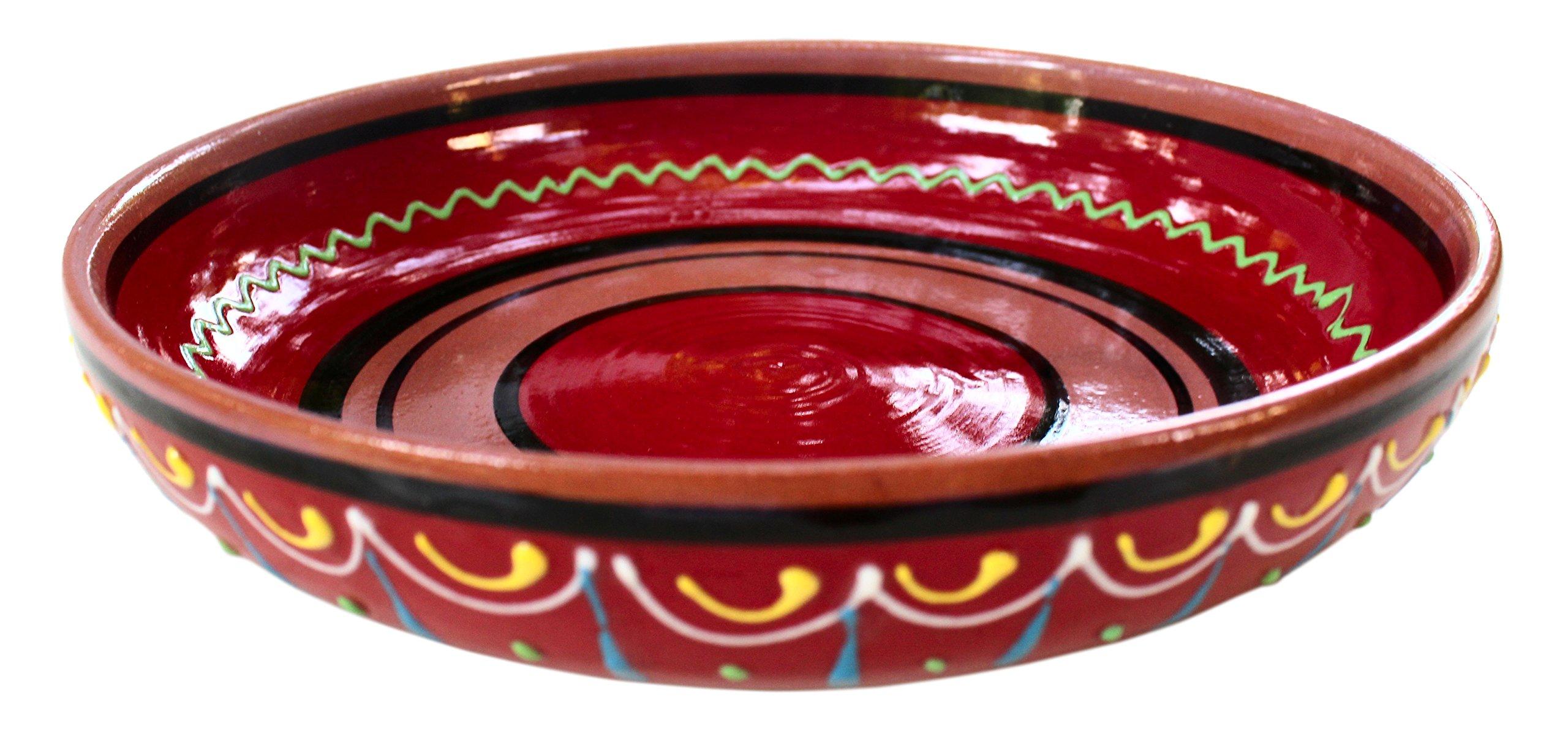 Small terracotta dish