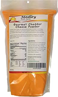Gourmet Cheddar Cheese Powder 1.5 lbs by Medley Hills Farm
