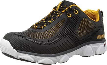 DeWALT Mens Krypton Safety Trainers Black 10 UK, 44 EU Regular : boots