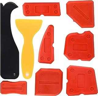 Sponsored Ad – Kuuqa 9 Pieces Silicone Sealant Finishing Tools Smoothing Caulking Tool Kit for Kitchen Bathroom Floor Seal...